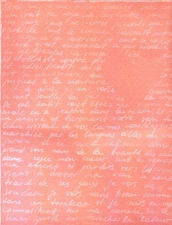 pink heart: illustration of romantic text Stock Photo
