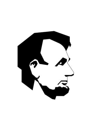 Simplified Lincoln Stock Vector - 454586