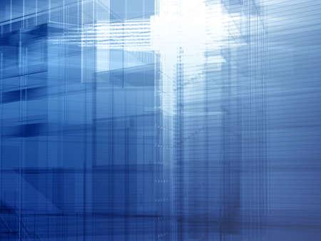 courtain: Hi-tech architecture - backdrop.