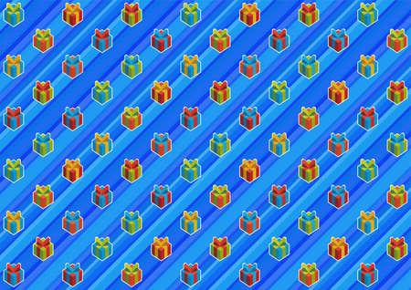 paper packing: Azul arco iris de papel de embalaje.
