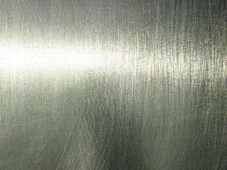 Polished silver surface. Stock Photo - 455920