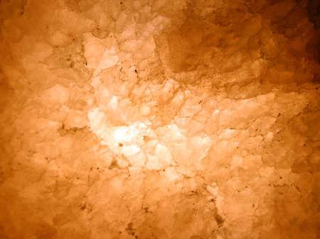 mined: Mined rock salt texture.