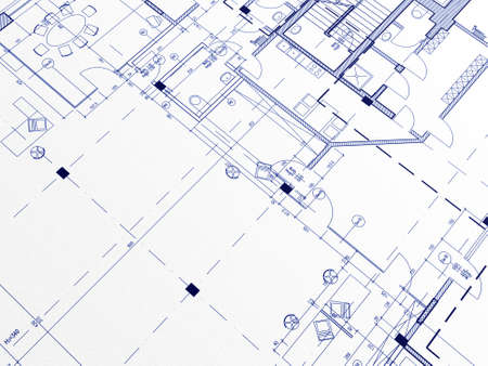 Technical cad documentation architectural background photo