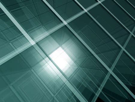 perpendicular: Transparent spatial screens geometric background