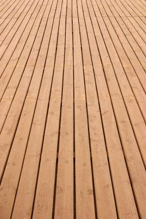 perspectiva lineal: Tablones de madera piso disminuci�n para el horizonte
