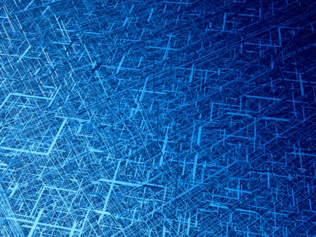 electric material: Deep blue wire 3d texture