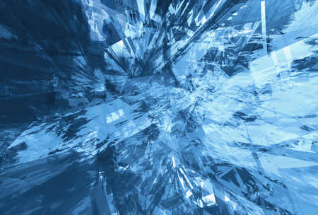 within: Dynamic blue grunge space