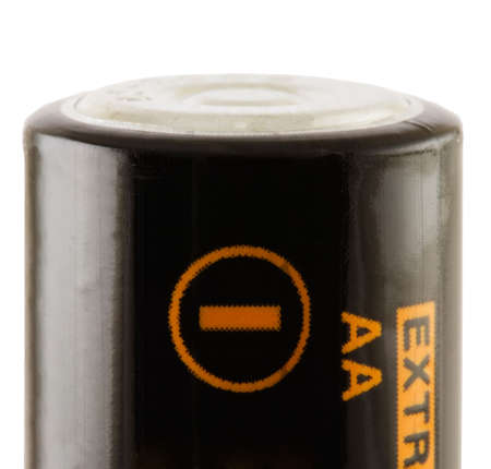 electronic energizer: Battery AA. Negative connect. Close-ip. Isolated. With path