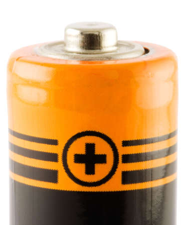 electronic energizer: Battery AA. Positive connect. Close-ip. Isolated. With path