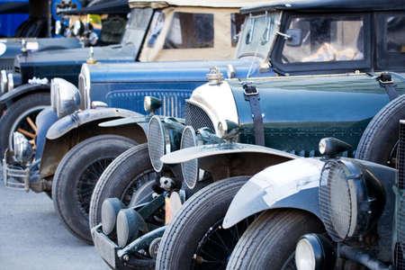 peking: Old cars. The Peking to Paris Motor Challenge. 2007