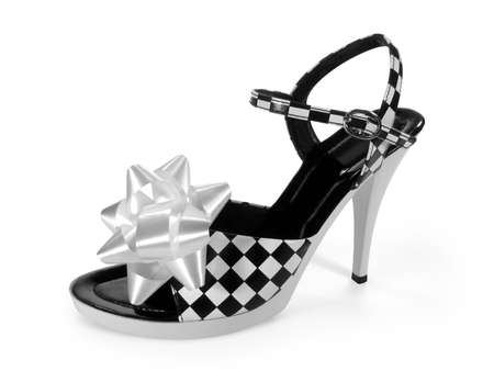 Sexy high heel shoe (with clipping paths) photo