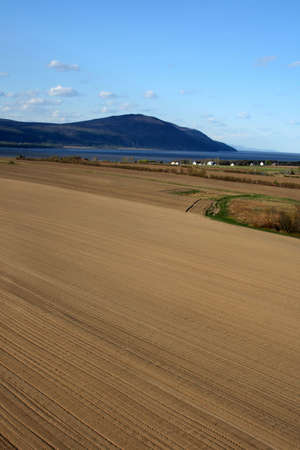 Rural landscape. Ploughed land ready for cultivation. Stock Photo - 1067358