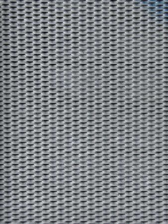 Zinc grille 2, la feuille de zinc de trou d'homme  Banque d'images