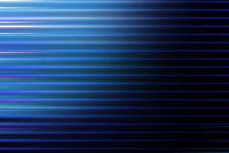 Abstract wavy blue background with shadow                             Stock Photo