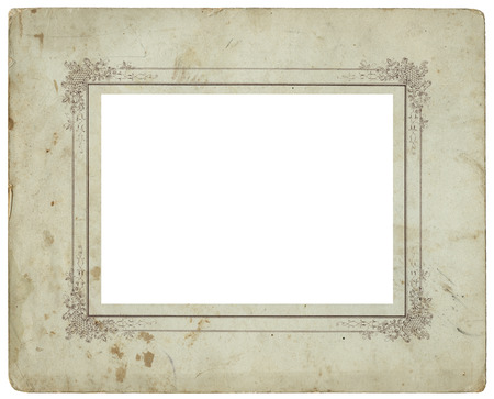 Vintage used photo frame - circa 1900 - perfect in detail