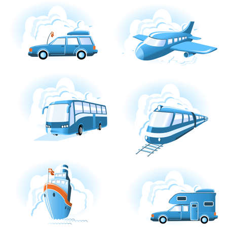 Transport & Travel icons Stock Photo - 1576702