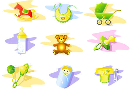 nappy:  Icon Set