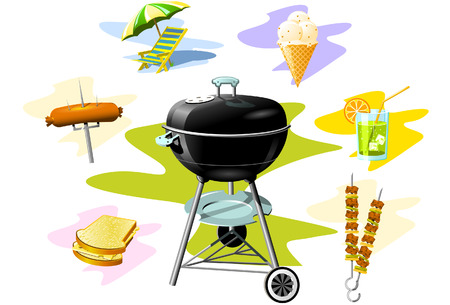 Barbecue Grill Stock Vector - 2900761