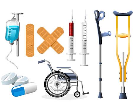 Health Icons Stock Vector - 5284037