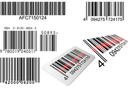 laser beam: Barcode