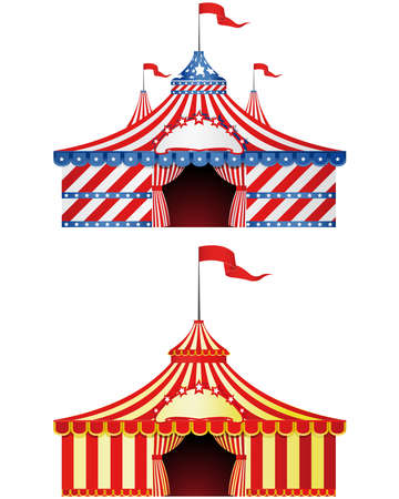 marquee tent: Big Top Circus
