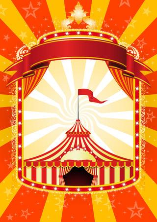 entertainment tent: P�ster de circo