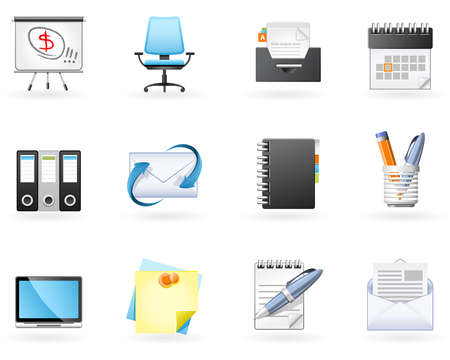 catalogue: Office and Business icons