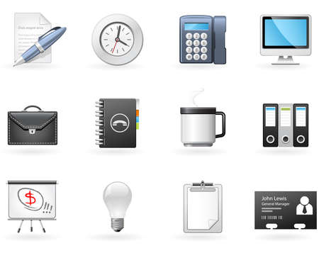 datebook: Office and Business icons