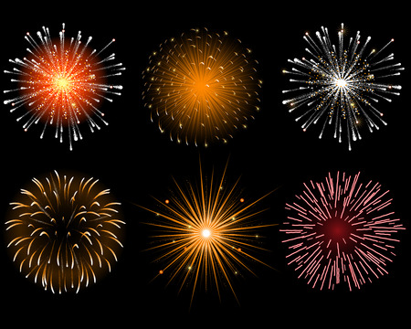 Fireworks Stock Vector - 8366155