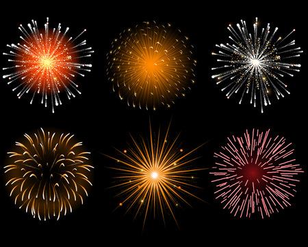 Fireworks Stock Vector - 8366155
