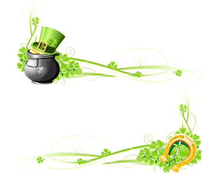 St. Patrick's Day banners Stock Vector - 8809199