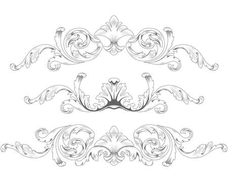 acanthus: Ornamental elements