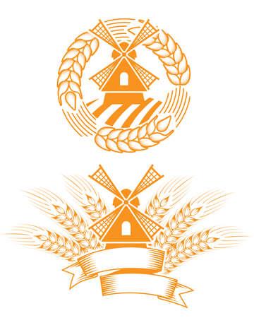 wind mill: Windmill emblem