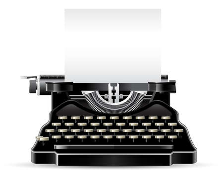 writers: Antique Typewriter