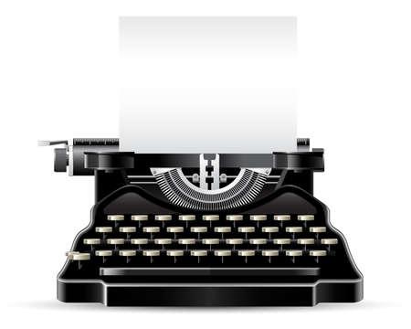 typewriter: M�quina de escribir antigua