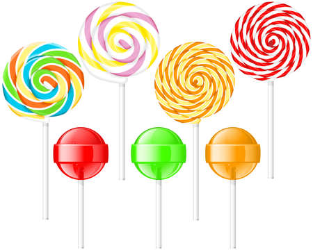 Lollipops Stock Vector - 10909303