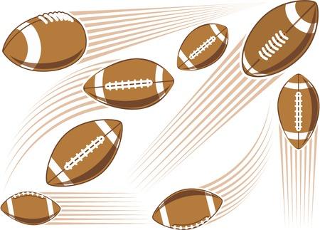 flit: Flying american football ball