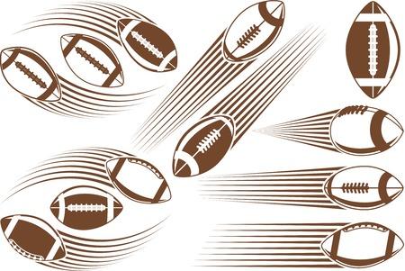 flit: Symbolic american football ball