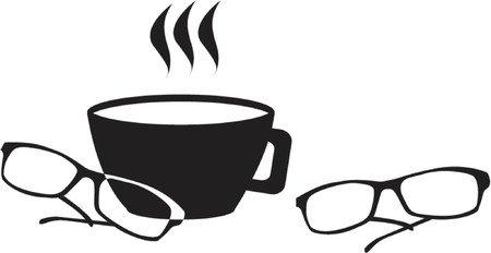 coffe break: Spectacles and coffe