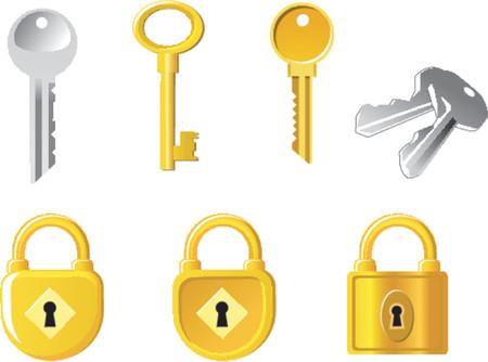 sauvegarde: Lock et les touches