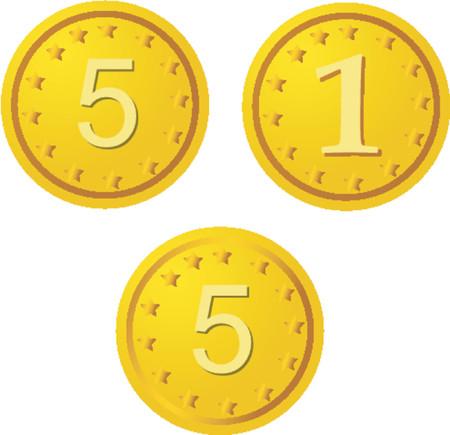 fiscal: Golden coins