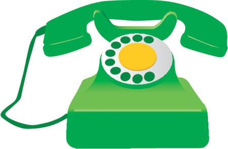 caller: Retro Telephone