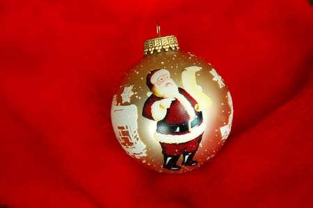 Santa Christmas Ornament Stock Photo