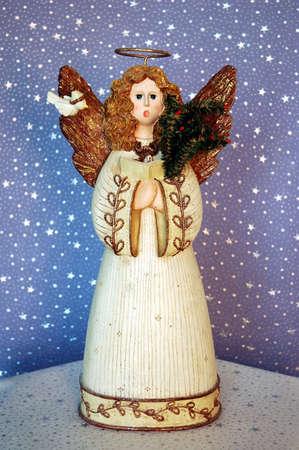 Angel Singing Stock Photo
