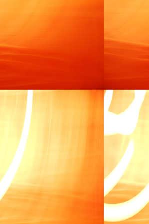 kwadrant: Pomarańczowy, czerwony, żółty i biały kwadrantem tle. Zdjęcie Seryjne