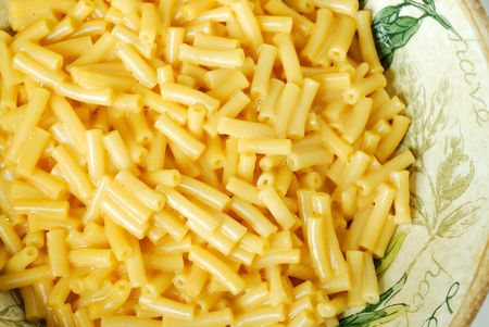 folate: Macaroni and Cheese Pasta