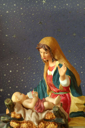 child jesus: Holy Family - Mary admires her , Jesus.r