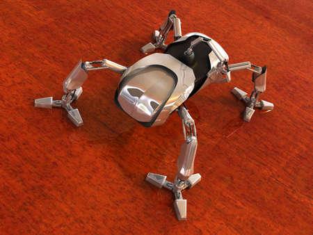 Mechanical spider photo