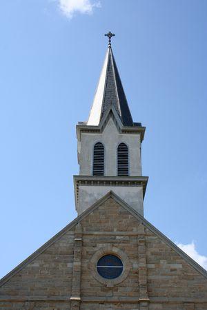 A small rural church in Texas. photo
