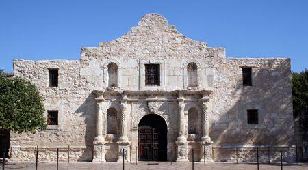 El Alamo en San Antonio, Texas. Un gran pedazo de la historia de Texas y el orgullo. Recuerden el Alamo!  Foto de archivo - 516303